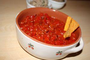 Salsa mexican habanero