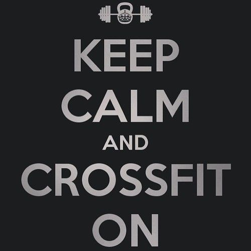Yes. That is all. #crossfit