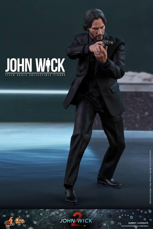Hot Toys 1 6th Scale John Wick John Wick Chapter 2 Hot Toys Keanu Reeves John Wick