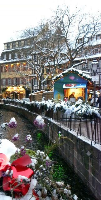 Christmas Markets in Colmar, Alsace, France  (by Le Monde de Catherine)
