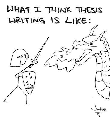 thesis writing methods