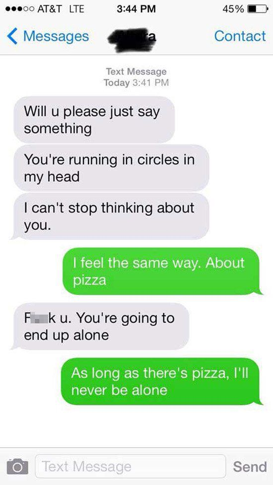 How to flirt through text with a girl your dating