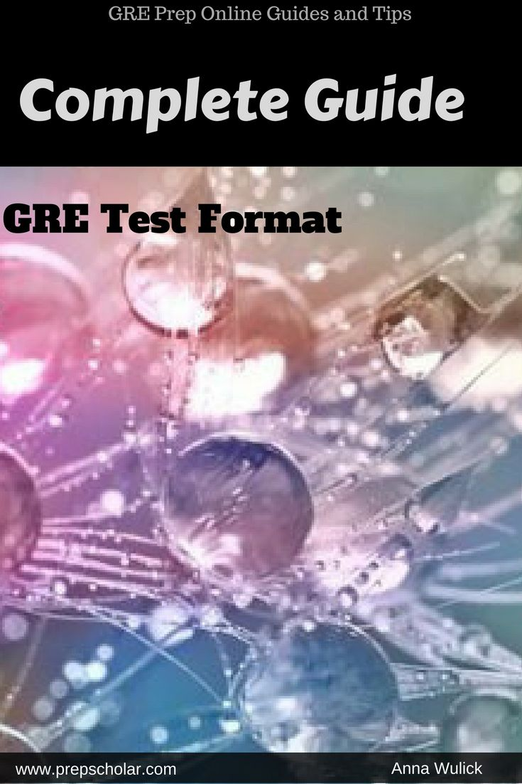 If you're studying for the GRE, the absolute most important thing to learn is the GRE format. No amount of math practice or vocab memorization can make up for not knowing what's on the exam and how it's structured. To fully maximize your score, you have to ensure that there will be no surprises on test day.