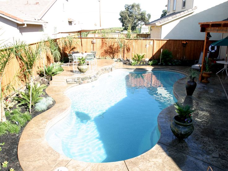 The 32 best Pool Ideas images on Pinterest | Fibergl pools ... Small Backyard Pool Ideas With S on small patios with pool, small backyard garden with pool, small backyard ideas garden, deck ideas with pool, small backyard ideas luxury, small backyard ideas play area, small home with pool, backyard designs with pool, small outdoor kitchen with pool,