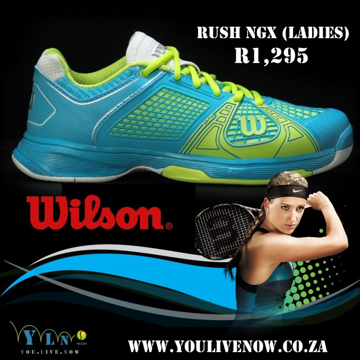 Some shoes you have to see to believe. The Wilson Rush NGX is certainly that type of shoe. With a very geometrical and linear design, the Rush NGX is designed to make even the most competitive player feel like they can keep going for another round. ONLY 6.5 SIZE  http://www.youlivenow.co.za/rush-ngx-ladies #wilsonrush #wilsonshoe #tennisshoe #wilsonrushngx