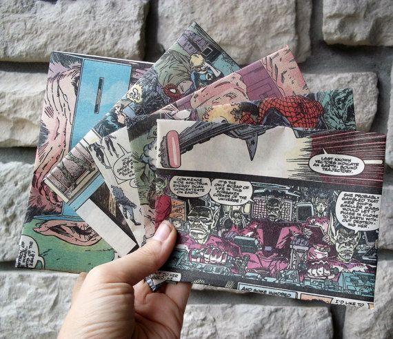 Aussenseiter-Hochzeits-Einladungen / Weinlese-Comic-Buch durch ReGrowRoots – #Au…