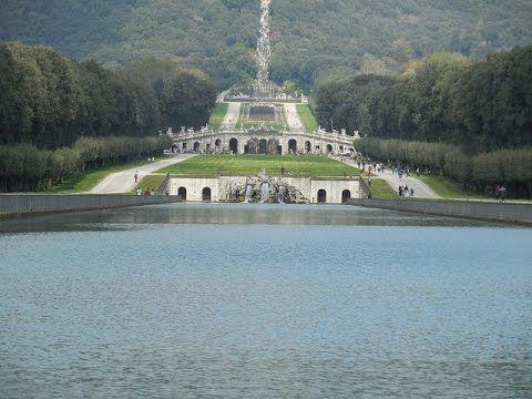 Grădini de vis - grădinile Palatului Regal din Caserta