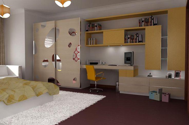 2014 Genç Odaları childrenu0027s bedroom Pinterest Bedrooms - jugendzimmer komplett poco awesome design