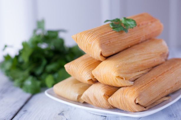 This tamale recipe is about as traditional as you can get, although I use a roast instead of the whole pig head that many Mexican women use. I have also used beef, but they just do not taste quite the same. These take about all day to make and are a lot of work, but they are so worth the time and the effort. Not for the faint-hearted cook for sure. They are a huge hit here in the West. For added flavor, top with either some of the red sauce used to prepare this recipe, or with my favorite…