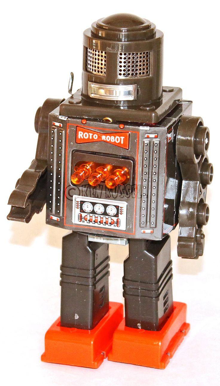 1960s Vintage Horikawa Roto Robot Made in Japan | Robots ...