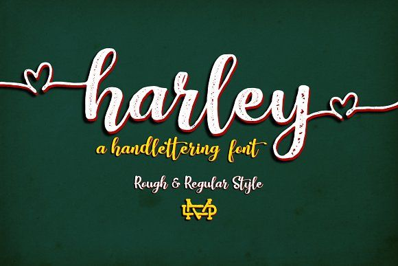 Harley Script by madeDeduk on @creativemarket