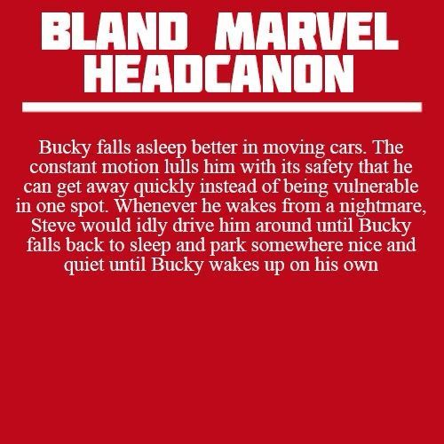 GUYS LOOK | My favorite Bland Marvel Headcanon. This is how you know they love each other (shut it; best friends and unbiological brothers love each other too). I like to imagine Steve parked under a shade tree, patiently reading a book in the driver's seat as the sun comes up and Bucky snoozes in the shotgun seat. - Visit now to grab yourself a super hero shirt today at 40% off!