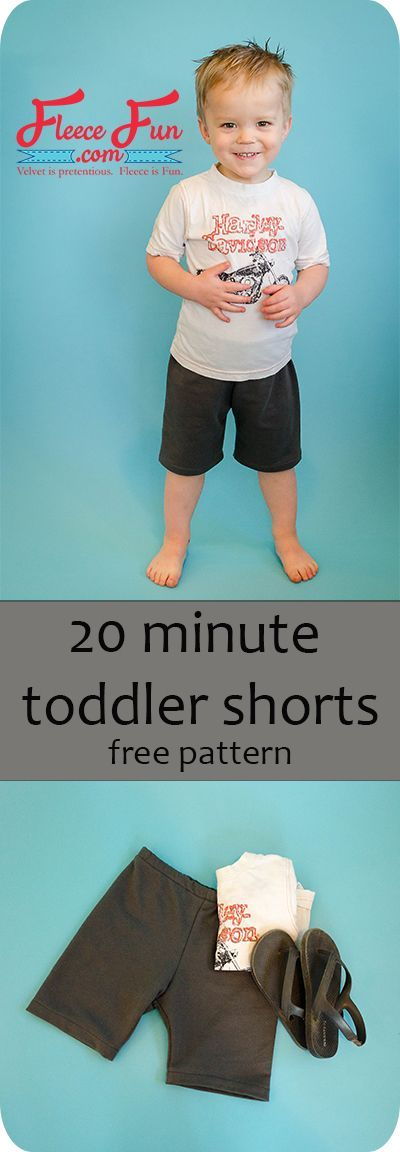 FREE pdf pattern in sizes 18 months to 4T! Project uses a serger.