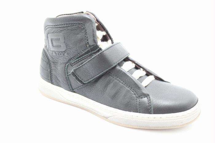 Schoenen en kinderschoenen Cole bounce restore sneaker in calfskin Black leather..