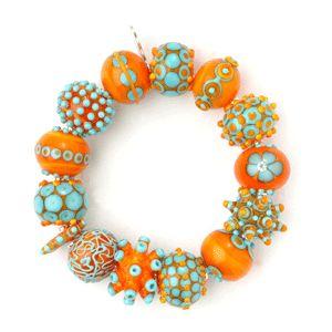 Nirit Dekel Brown Fashion Jewels of Glass