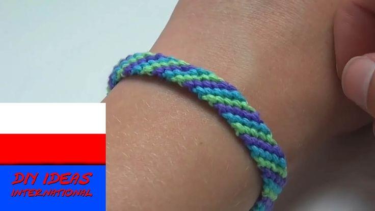 bransoletki z muliny dla początkujących po polsku - Bransoletki przyjaźni
