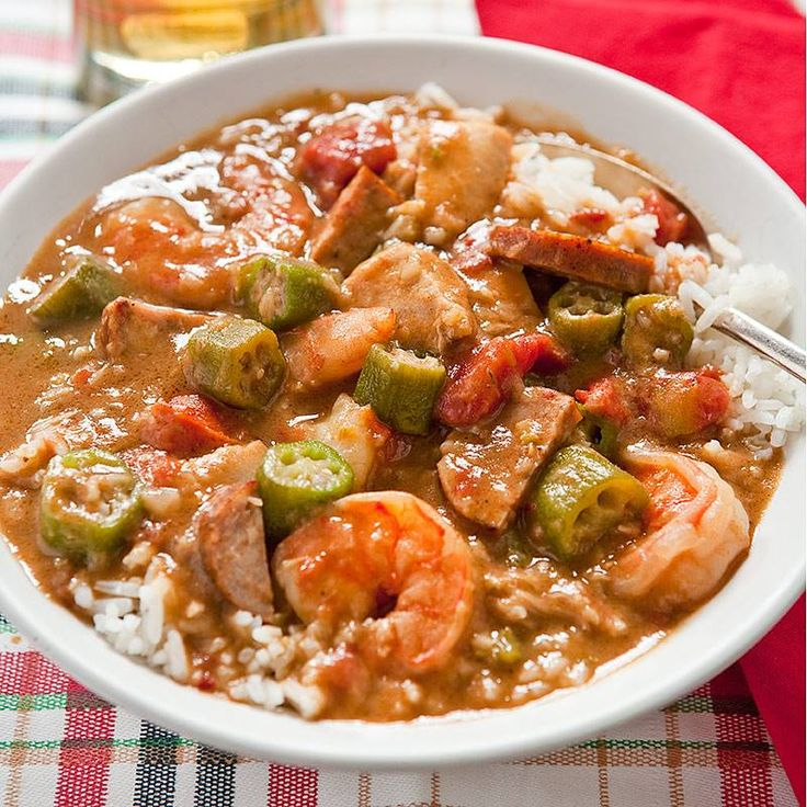 Gumbo recipe by Mom.  Someone sent us their mom's great Gumbo recipe that can be used with okra, shrimp or other seafood. | Experience New Orleans