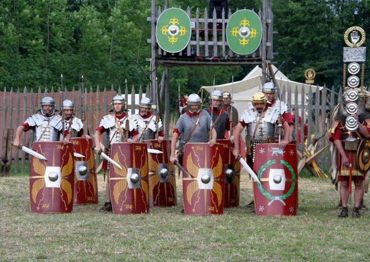 Foto Romeinse soldaten