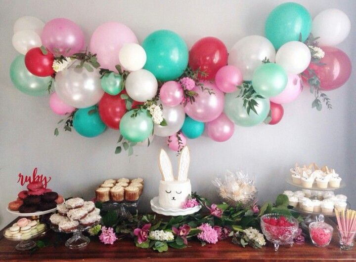 Happy Birthday Flowers And Balloons ~ 60 best balloon garlands images on pinterest birthdays weddings