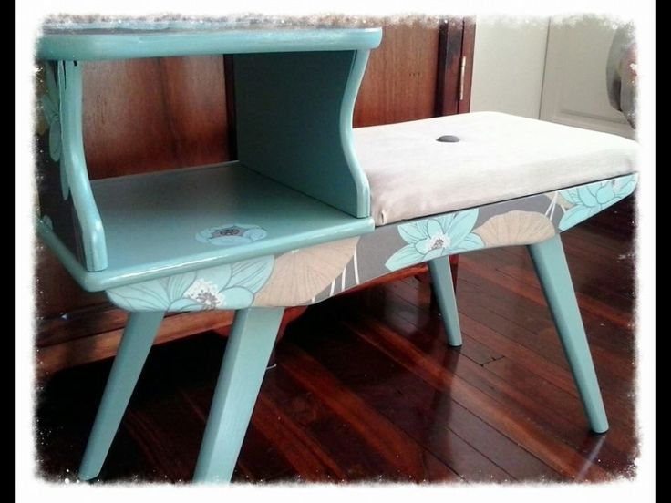 Upcycled Telephone Table