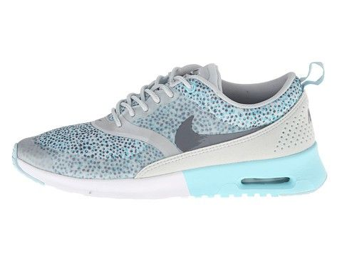 Nike Air Max Thea Print Glacier Ice Dames (Grijs/Light/Basis/Grijs/Wit/Antraciet) Schoenen