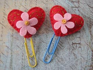 Signet pour la St-Valentin, très simple à faire !
