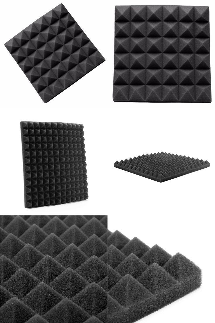 [Visit to Buy] Best Price 30*30*5cm Studio Acoustic Soundproof Foam Sound Absorption Treatment Panel Tile Wedge Protective Sponge #Advertisement