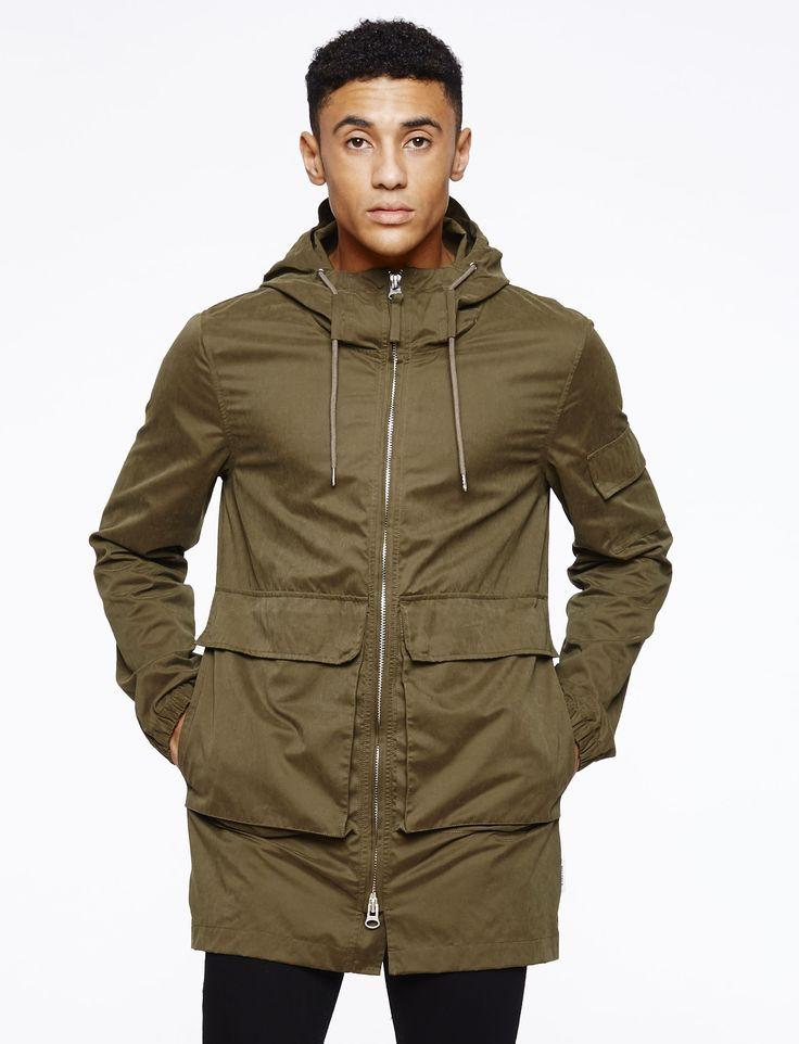 Hylon Jacket | Bellfield Clothing | Mens Parka Jacket