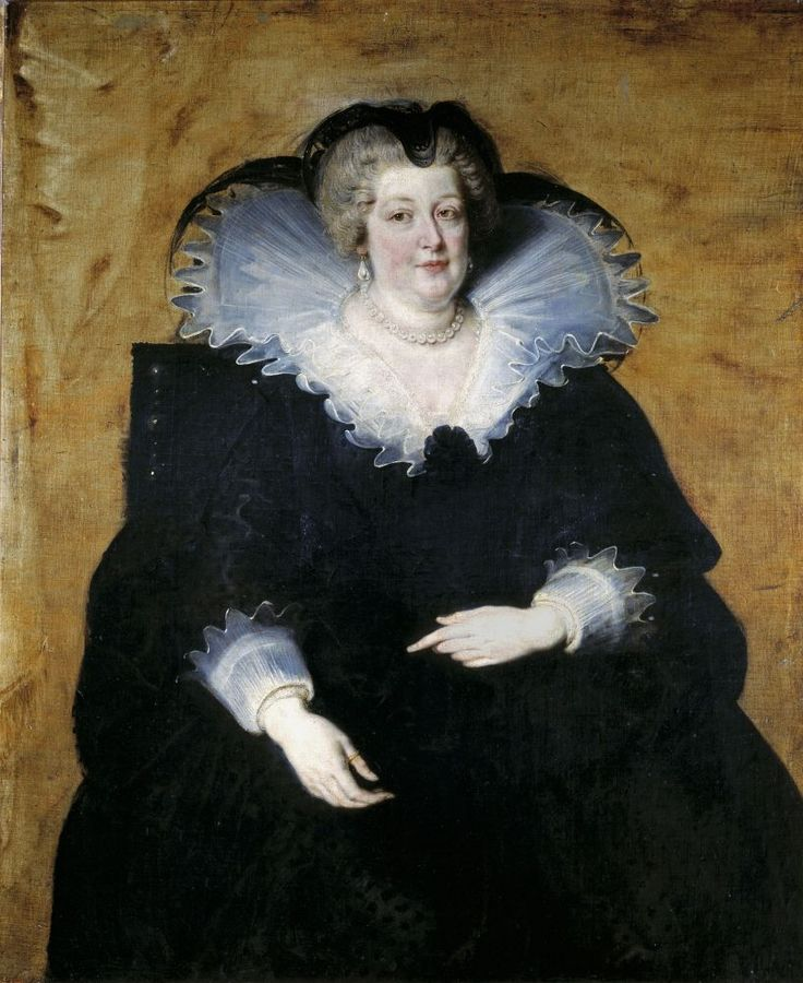 Питер Пауль Рубенс. Мария Медичи, королева-мать Франции, 1622 г.