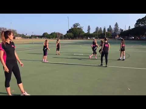 Nettyheads Netball drills- Pass and Go - YouTube