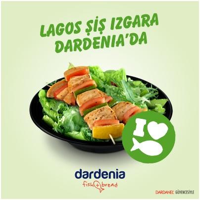 Lagos Şiş Izgara Dardenia'da!  Sağlıklı olan her şey tek tabakta!