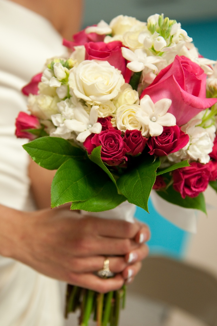 #wedding floral  #wedding bouquets  could be cute for the centerpieces. It would tie in mine, Julie and Laurens bouquet and still look nice.