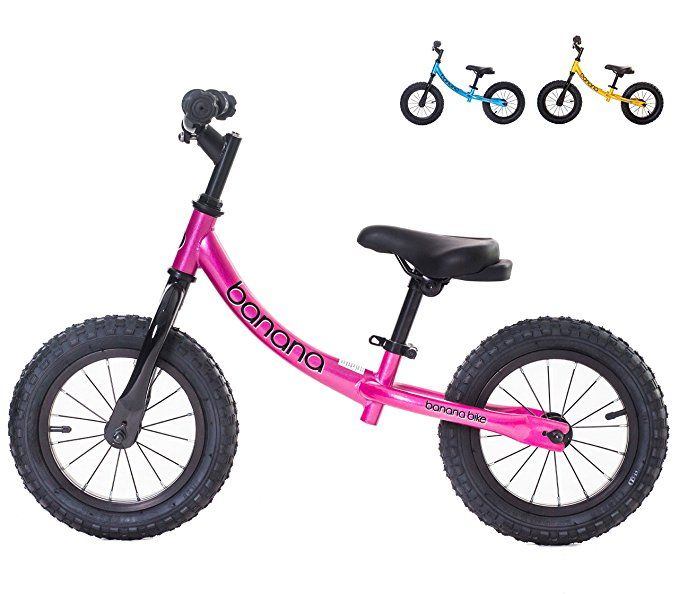 Banana Bike Gt Balance Bike For Kids Candy Pink Review