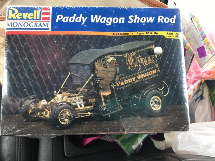 Vintage Revell Monogram Paddy Wagon Show Rod Model Kit 1:24 Scale New In Box | eBay
