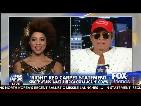 Joy Villa & Andre Soriano - Fox News Channel - February 14, 2017