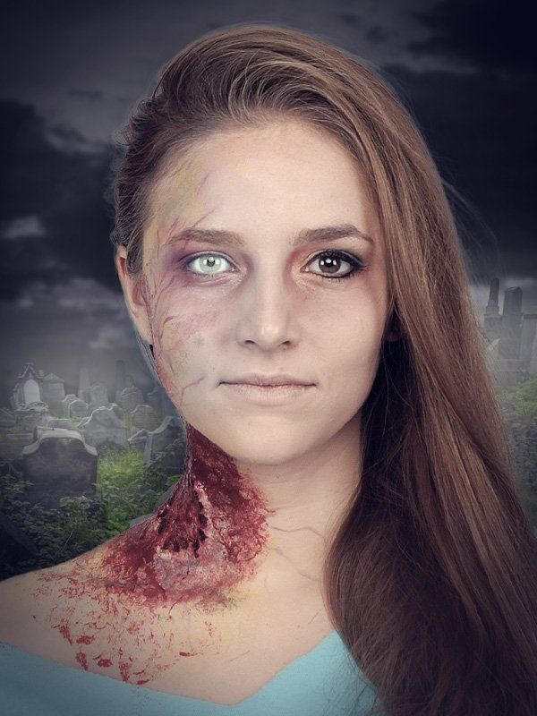 Zombie schminken: Step by Step Anleitung