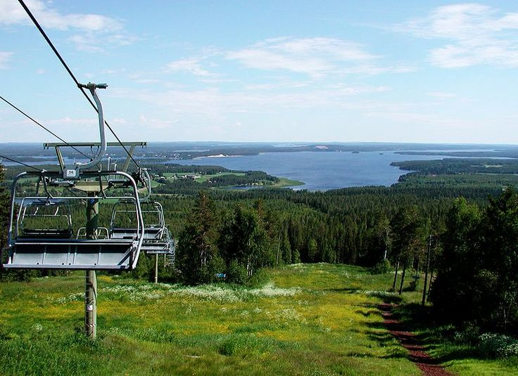 Skianlage in #Vuokatti