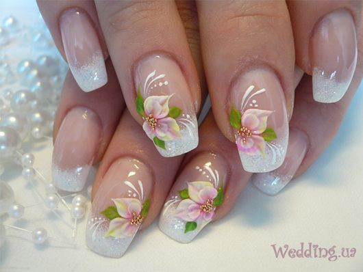 48 best 3d nails art and designs images on pinterest betty boop feminine flower nail art design nice for spring or bride prinsesfo Choice Image