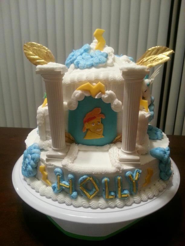 Hercules Cake Birthday Cake Cake Disney Desserts