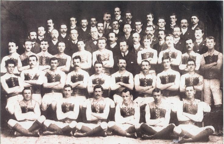 1906 Grand Final: Carlton 15.4.94 def Fitzroy 6.9.45.