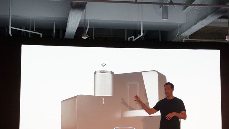 Sonos demoes Alexa control says more assistants coming     - CNET Sonos demonstrated Amazon Alexa voice control of its speakers at an event in Boston yesterday.   Antoine Leblond Sonos vice president of software walked onstage and said Alexa pause Sonos to an Amazon Echo Dot speaker pausing the music playing over the Play:5 speakers lining the room.   Leblond said the company still had some work to do and that it was important that we get the experience right.  He continued We dont really…