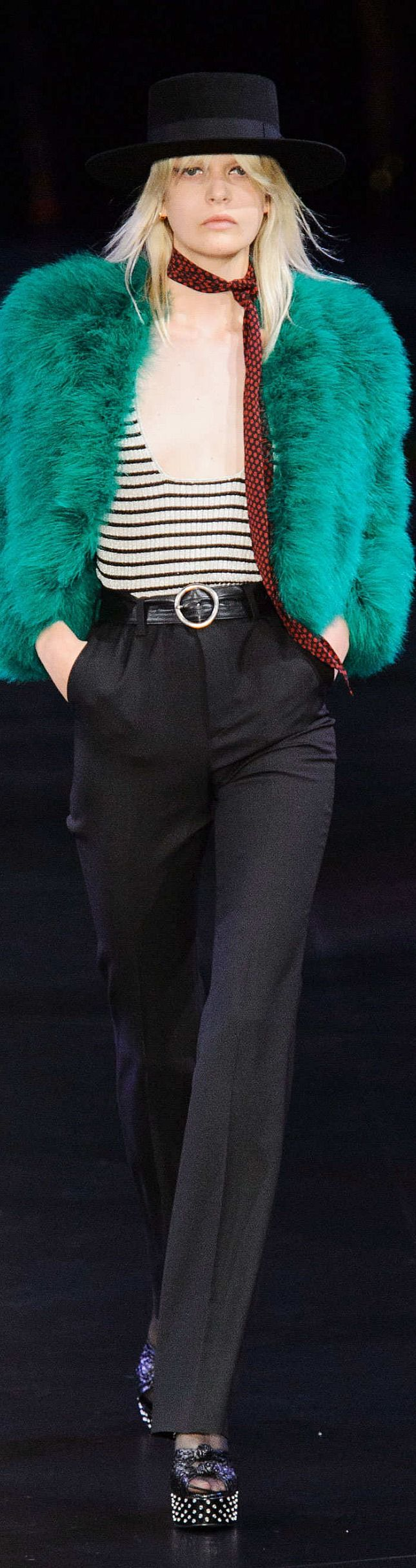Saint Laurent Collection Spring 2015   The House of Beccaria~