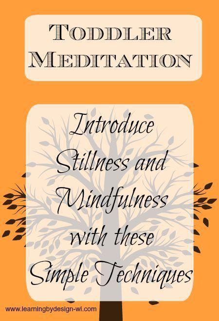 toddler meditation
