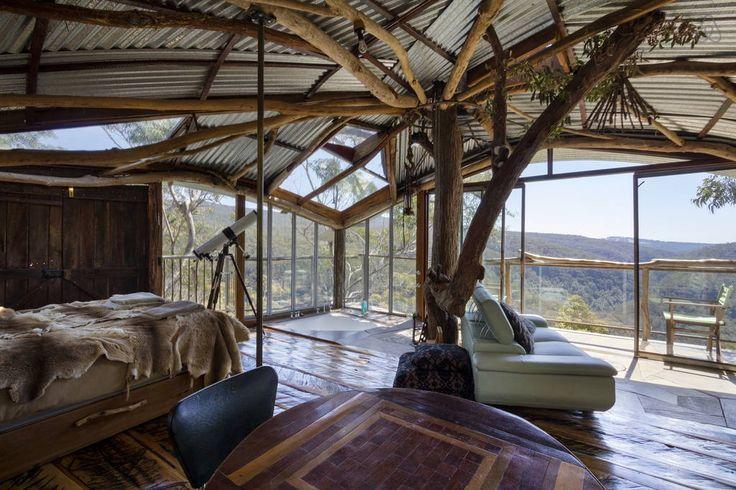 Schau Dir dieses großartige Inserat bei Airbnb an: Treehouse - Baumhäuser zur Miete in Bilpin