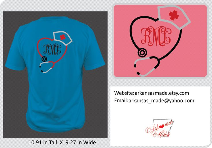 Stethoscope monogram nurses hat shirt, nurse shirts, Nurse shirt, LPN shirt, crna shirt, nurse bling, apn, RN shirt, medic, stethascope - pinned by pin4etsy.com