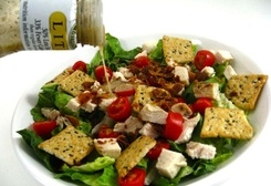 Fresh, Fabulous and Skinny, Chicken Caesar BLT Salad