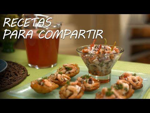 Ceviche de mariscos caribeños y cerveza con sandía - Recetas para Compartir l Discovery Channel - YouTube