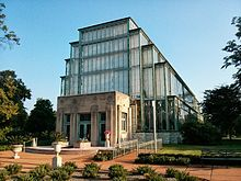 The Jewel Box is an art deco greenhouse available for events and parties.  This would be cool to own a SPECIAL PLACE like this!