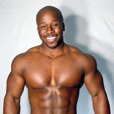 Black musclemen Nude Photos 41