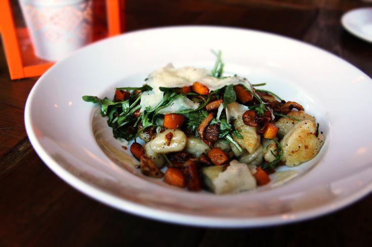 Gnocchi @Cicchettibar with chanterelles, caramelized squash, sage brown butter, pecorino... = #Tasty #YYJ #Food  www.catalanorestaurant.com